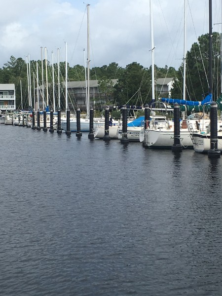 Pilemates at Northwest Creek Marina in New Bern, NC
